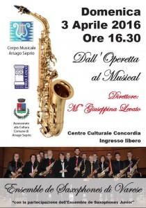 DALL' OPERETTA AL MUSICAL Arsago