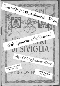 DALL' OPERETTA AL MUSICAL Gavirate 2