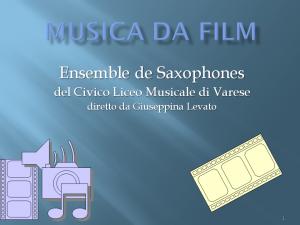 MUSICA DA FILM Milano