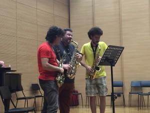 Masterclass Saxofono 123