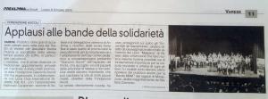 Bande in Concerto - articolo Prealpina